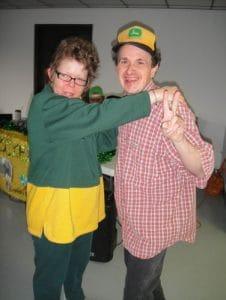 Diane & Robbie dancing